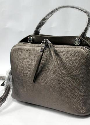 Женская сумка, кожа, натуральная кожа, кросс - боди, стильная ...