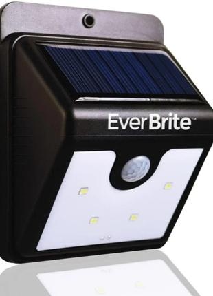 Светодиодный Фонарь На Солнечной Батарее С Датчиком Движения Ever