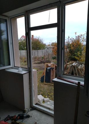 Двери ПВХ металопластиковые окна