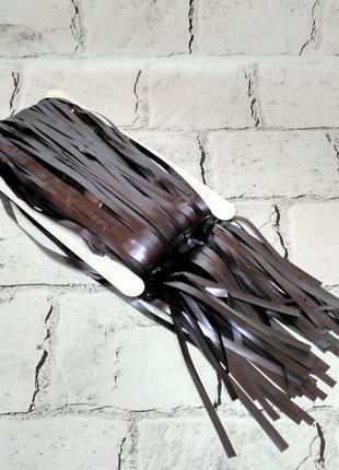 Гирлянда шторка для декора фотозоны, серая сатин 1х2 метра