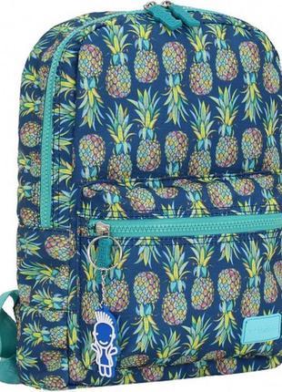 Рюкзак, ранец, городской рюкзак, детский рюкзак, ананасы, мале...
