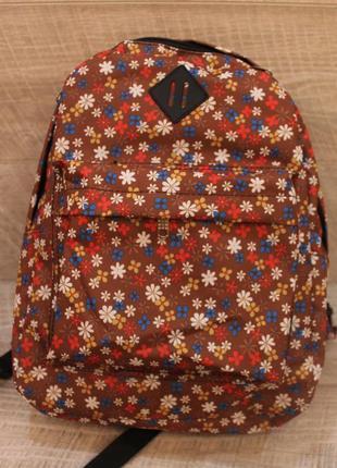 Рюкзак, ранец, городской рюкзак, цветы