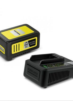 Аккумулятор и зарядное устройство для электроинструмента Karcher