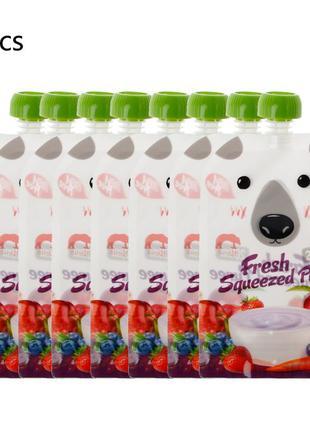 Многоразовый пакет для детского питания KEYBOX (200 мл)