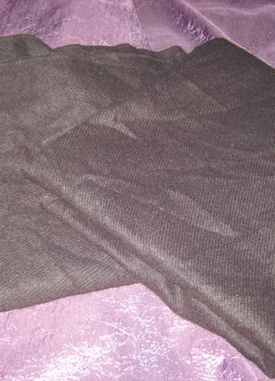 Пончо, шарф с разрезом, теплый, новый