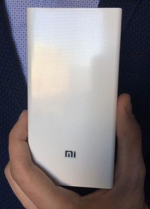 Power bank Xiaomi 20000mAh 2 USB портативная батарея, повербанк,