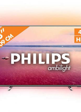 "Телевизор 43"" PHILIPS LED 43PUS6754/12 Ambilight 3"