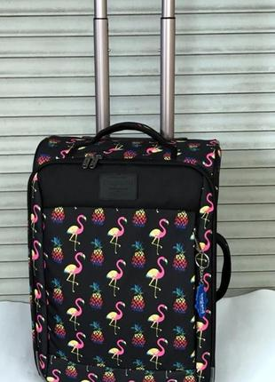Чемодан, маленький чемодан, фламинго, валіза, ручная кладь, са...