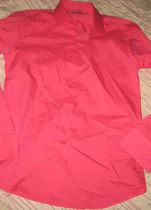 Рубашка мужская, р. М (44-46), б/у