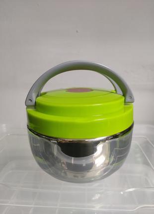 Ланч бокс ланч-бокс термос для сухой еды для школьников двойно...