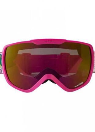 Горнолыжная маска wedze розовая в отличном состоянии лыжные очки