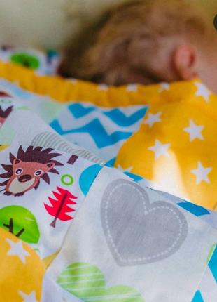 Лоскутное одеяло с принтом