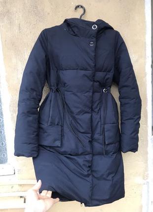 Приталенный пуховик , пальто, куртка