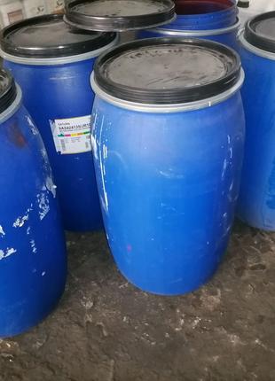 Продам бочки з під водоімульсіонних красок на 200л