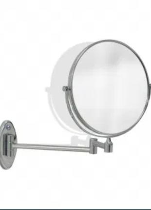Зеркало косметическое с пятикратным увеличением.