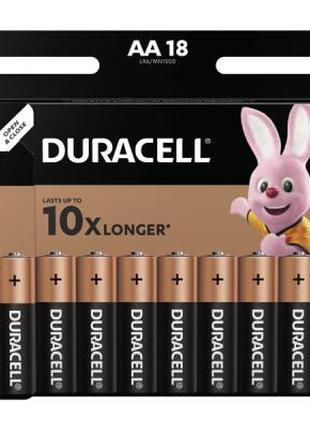 Батарейка Duracell AA MN1500 LR06 * 18 065083