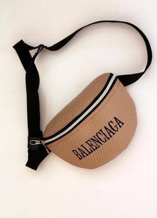 Бананка, барсетка, женская сумка на пояс, поясная сумка, эко кожа