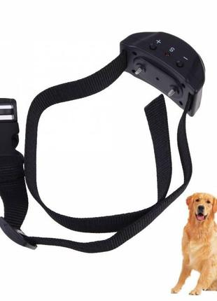 Ошейник электронный для дрессировки собак, антилай 297273