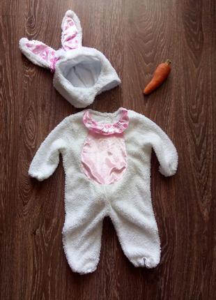 Карнавальный костюм зайка зайчик