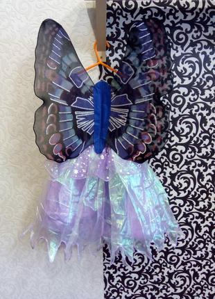 Карнавальный костюм бабочка фея