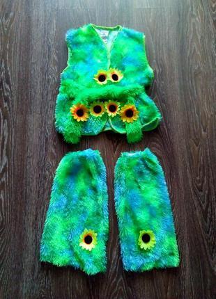 Карнавальный костюм лето трава