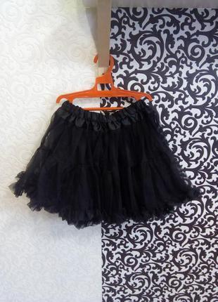 Карнавальный костюм юбка ведьмочка хэллоуин
