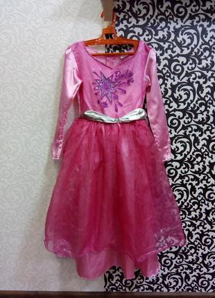 Карнавальный костюм платье принцесса барби