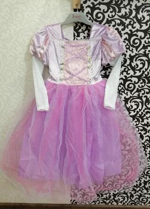 Карнавальный костюм платье принцесса