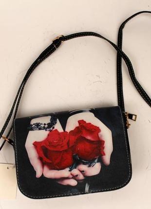Сумка, эко кожа, женская сумка, маленькая сумка