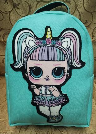 Детский рюкзак, эко кожа, повседневный рюкзак, городской рюкзак
