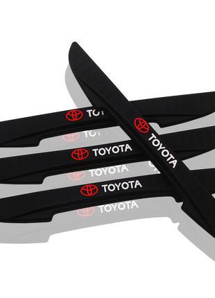 Toyota Защита Для Кромки Двери Торцевой Молдинг Тойота