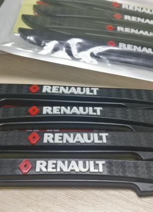 RENAULT Защита Для Кромки Двери Торцевой Молдинг РЕНО