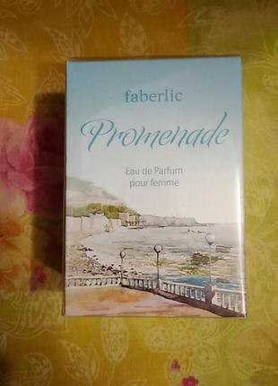 Парфюмерная вода для женщин promenade faberlic