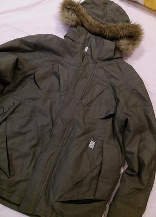 Очень теплая куртка термо зима горнолижная