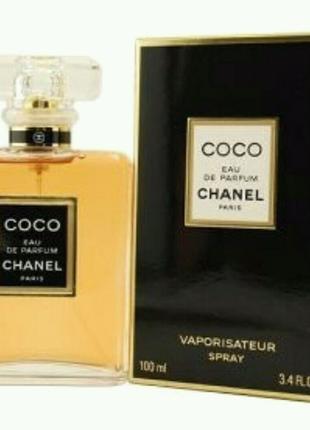 Парфюмированная вода женская Chanel Coco EDP Black, 100 ml