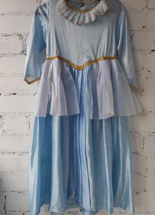 Платье нарядное, карнавальное, новогоднее платье для девочки