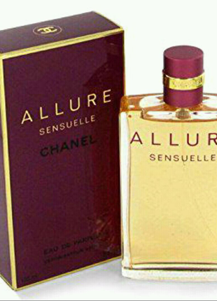 Женская парфюмированная вода Chanel Allure Sensuelle 100ml