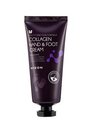 Крем для рук и ног с коллагеном Mizon Collagen Hand And Foot