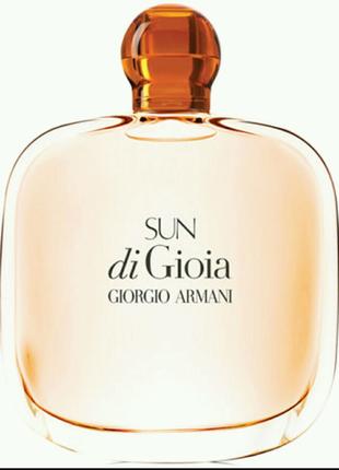 Женская парфюмированная вода Giorgio Armani Sun di Gioia