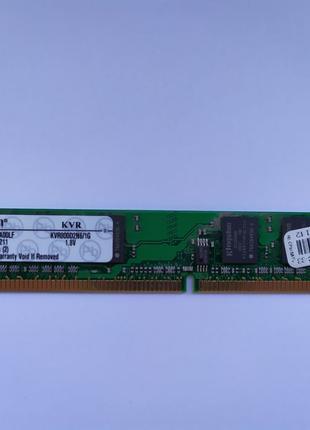 Оперативная память Kingston DDR2/800/1GB