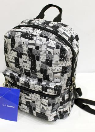 Рюкзак, ранец, городской рюкзак, спортивный рюкзак, коты, детс...
