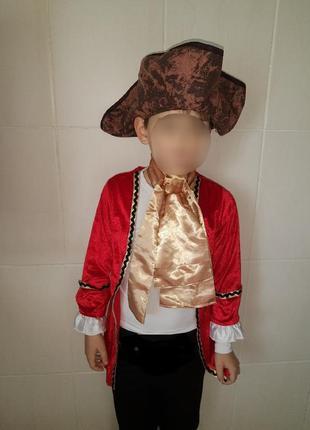 Карнавальный костюм каизол детский пират/ принц/ вельможа/паж