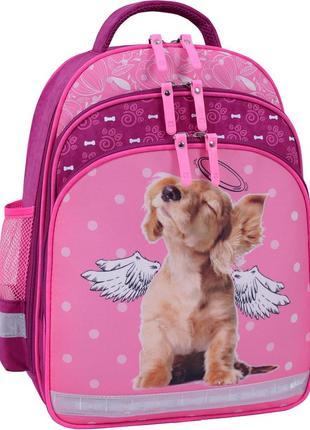 Рюкзак школьный bagland, для девочки, фирменный рюкзак, ортопе...