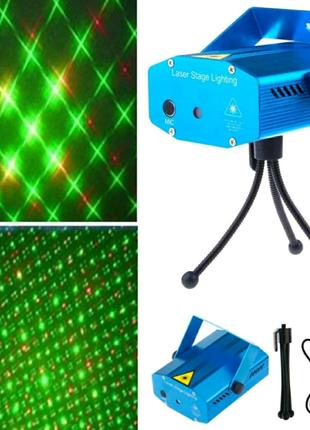 Новогодний лазерный проектор внутреннний проектор новый не дорого