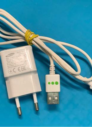 Зарядка Samsung оригинал кабель micro usb, блок питания 5v 2a