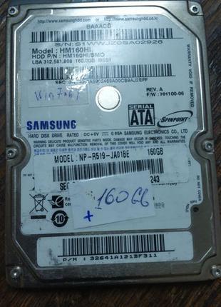 HDD Samsung 160 GB