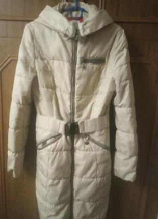 Пальто зимове 13-14років