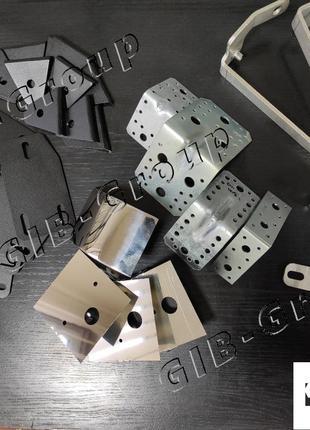 послуги по обробці металу та готова продукція з металу