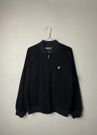 Бомбер lyle and scott bomber jacket