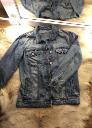 Пиджак джинсовый женский / джинсовая куртка женская / піджак ж...